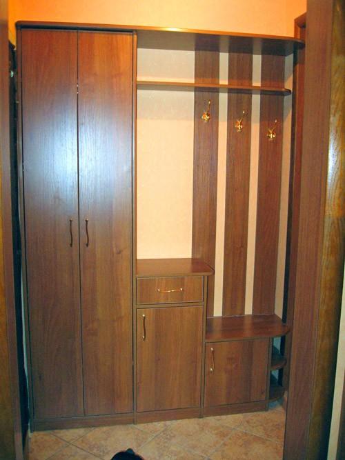Наша компания предлагает достаточно большой выбор различных моделей шкафов для прихожей: встроенные, угловые